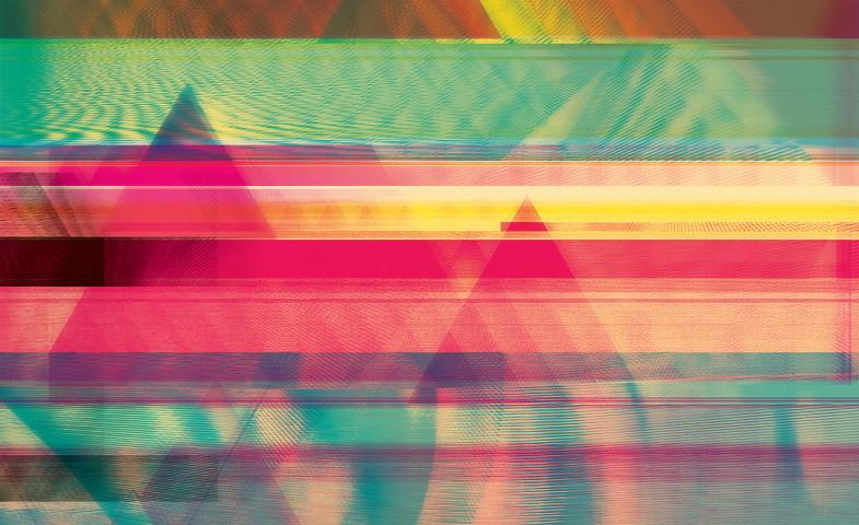 Glitchometry Triangles #1 alternate