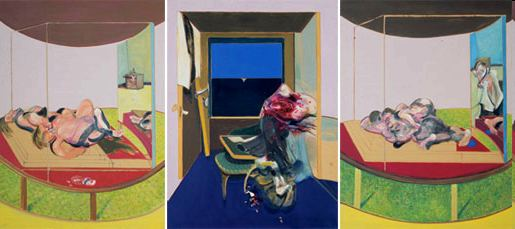 Triptych Inspired by T.S. Eliot's poem Sweeney Agonistes
